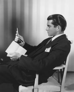 vintage man reading letter